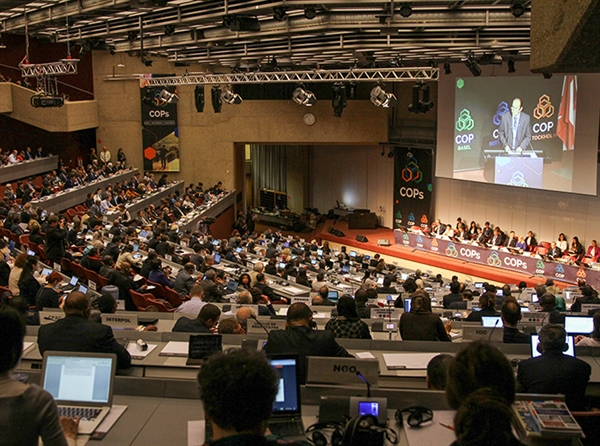 Preparations intensify for 2017 triple conferences of the parties (COPs): Geneva, Switzerland